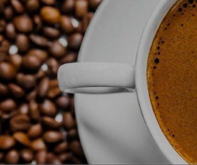 brewing coffee